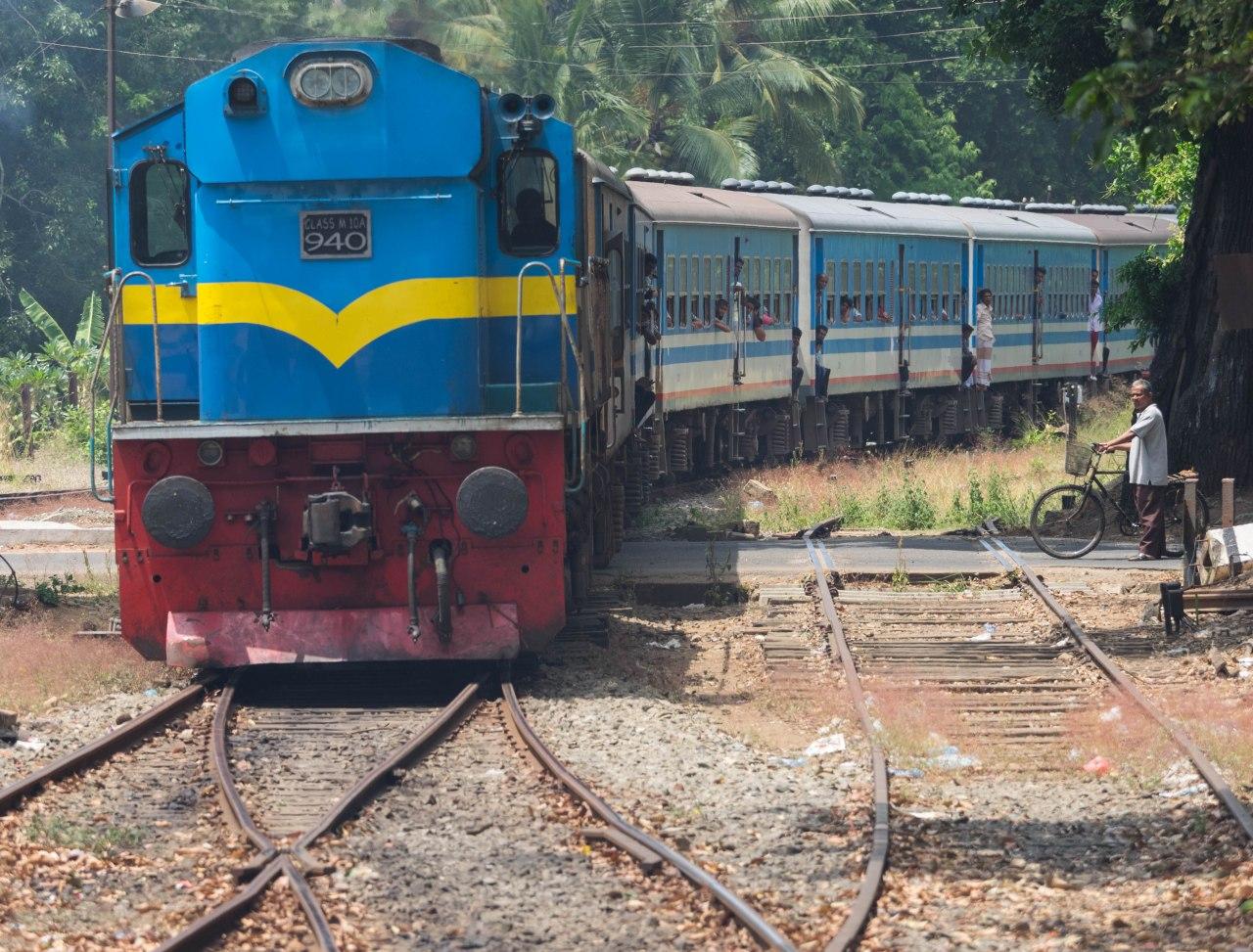 Le chemin de fer srilankais