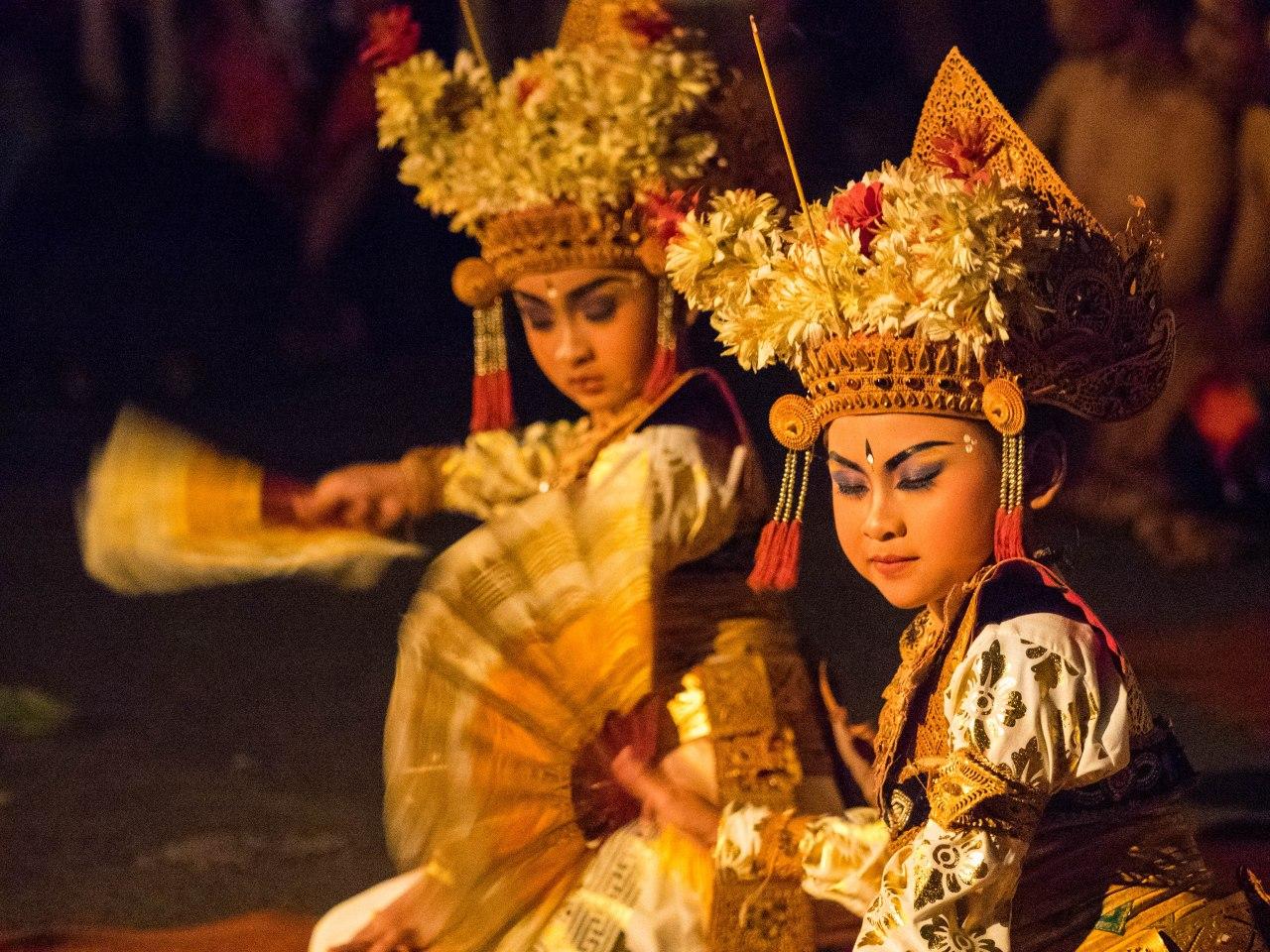 Danses traditionnelles balinaises: laissez-moi vous raconter unehistoire.