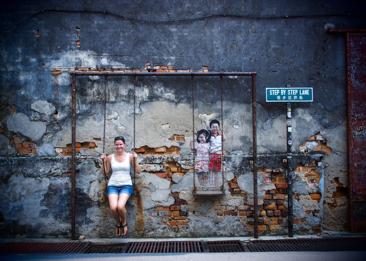 Street art, Chinatown, trishaws: le charme de la Malaisie en quelquesmots…